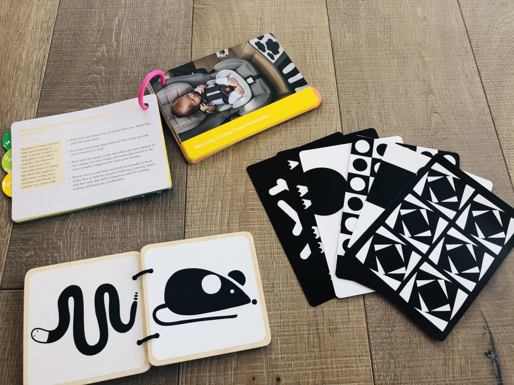 Lovevery black and white cards